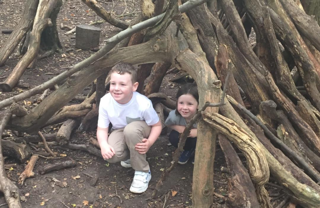 Free range parenting in the woods