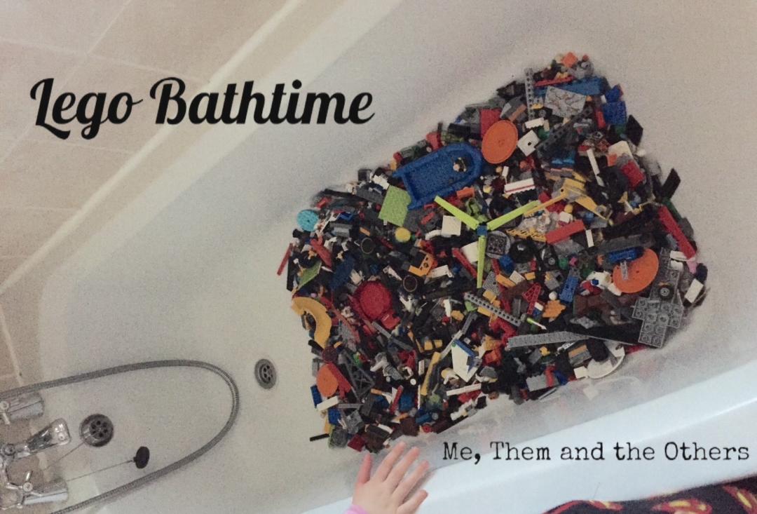 Lego in the bath