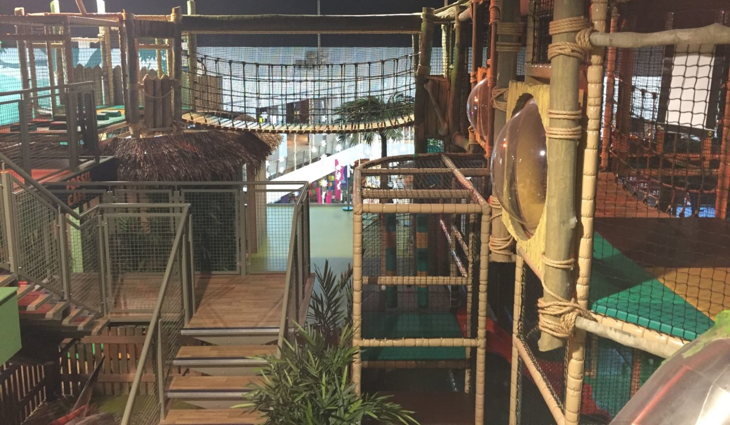 Soft play at dinotropolis bluewater