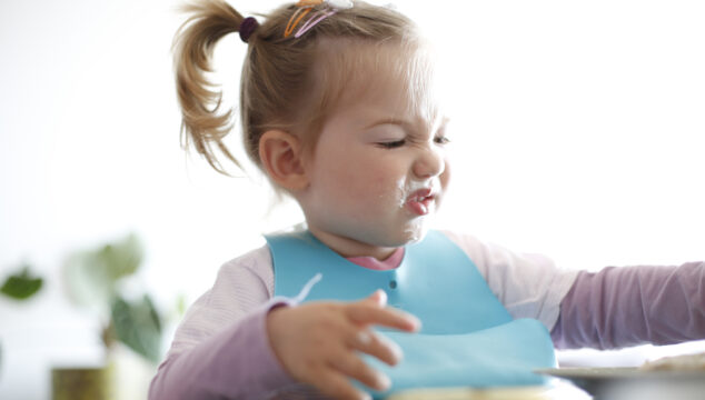 Fussy toddler