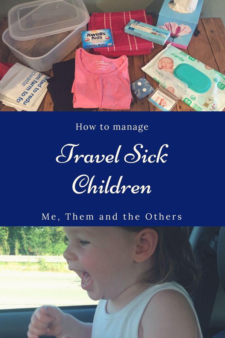 Travel sick children