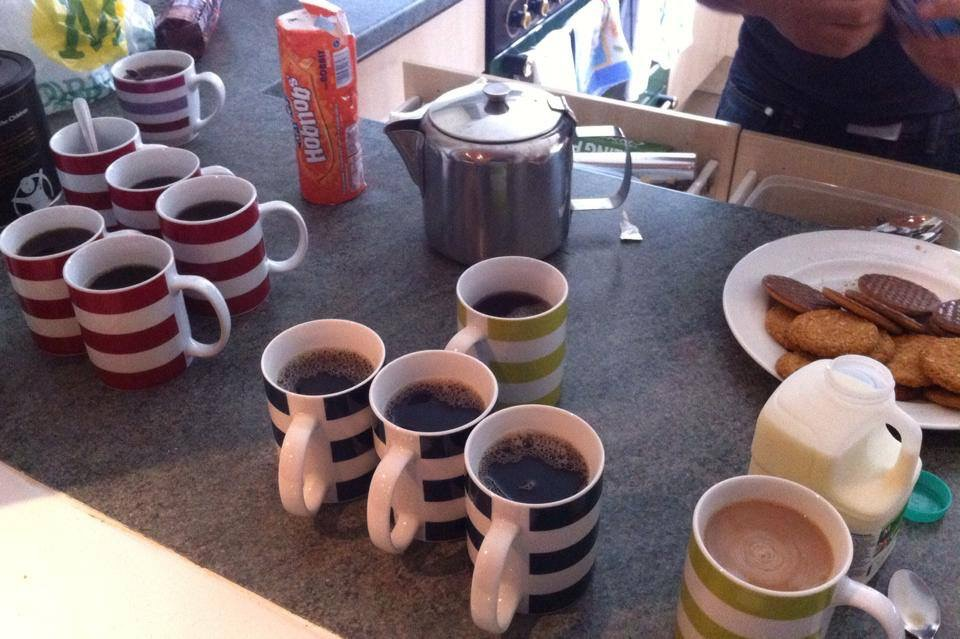 Starting a toddler group - tea is the most important thing