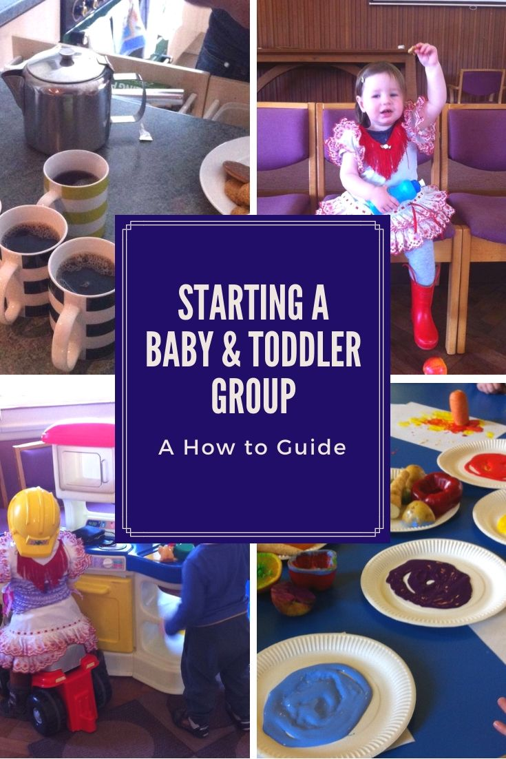 Setting up a toddler group