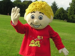 Music class mascot That scared boy Child