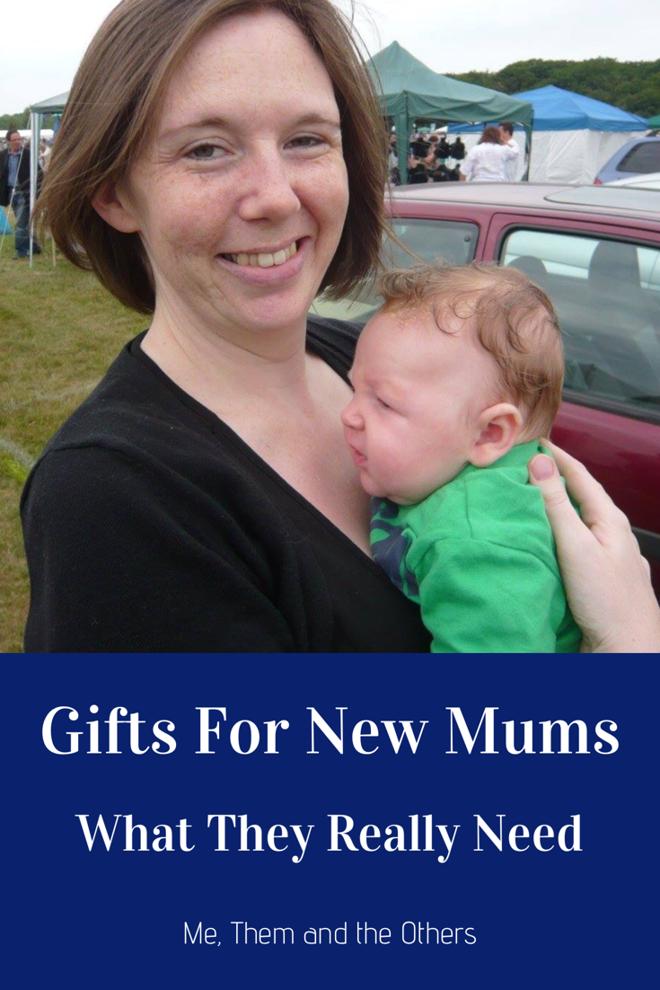Gifts for new Mums - what they really need