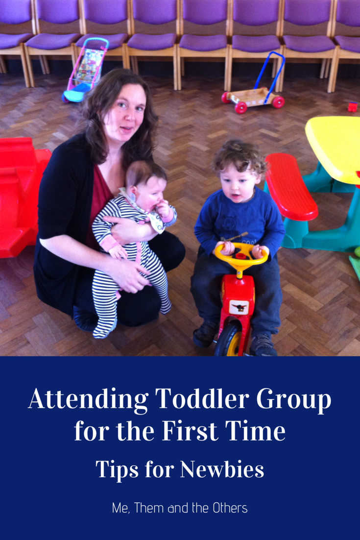 Attending toddler groups for the first time - tips for newbies