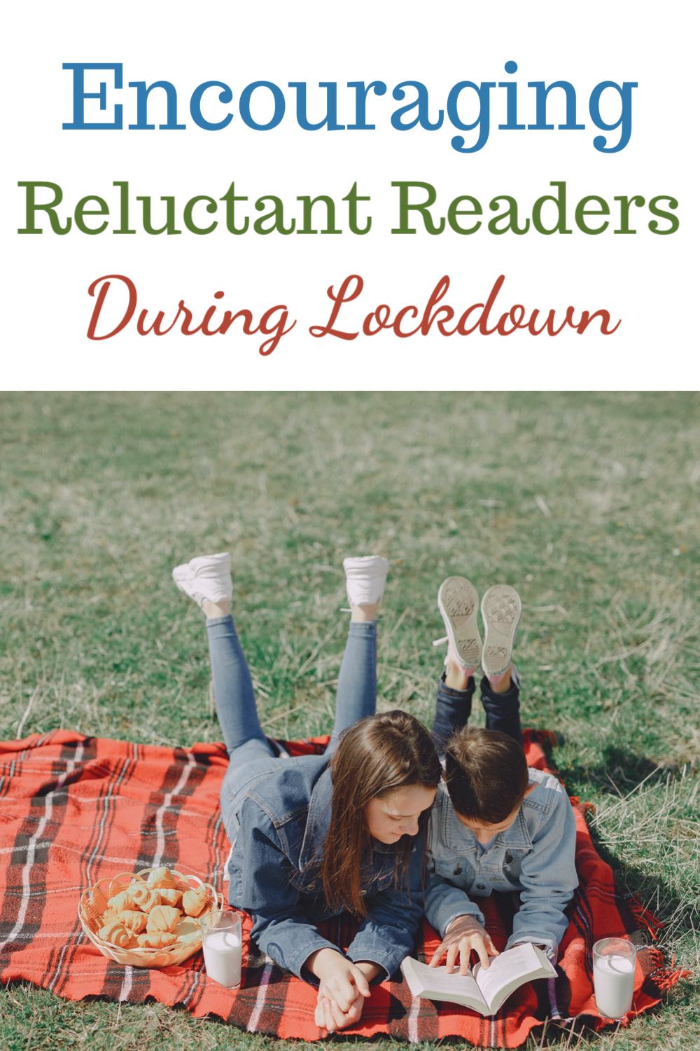 Encouraging reluctant readers during lockdown