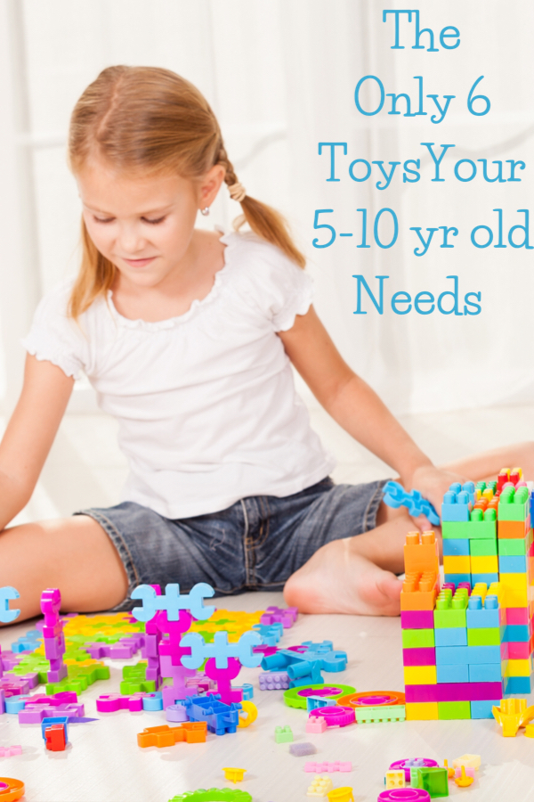 Essential toys for 5-10 year oldS