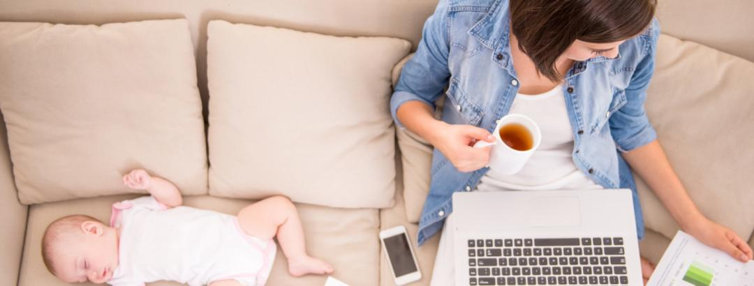 What is a WAHM? (Spoiler Alert, it's a Work at Home Mum)