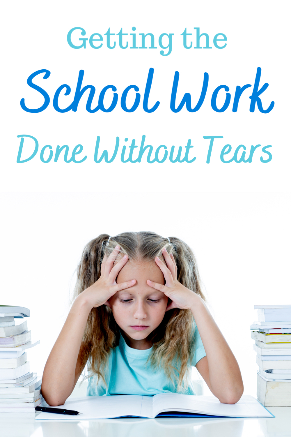 Getting School Work done without tears