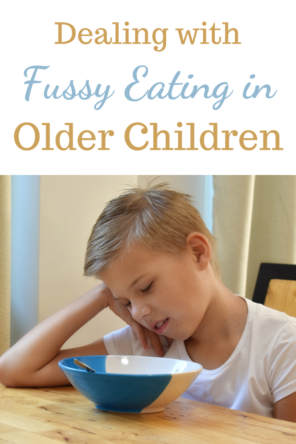 How to deal with fussy eating in older children