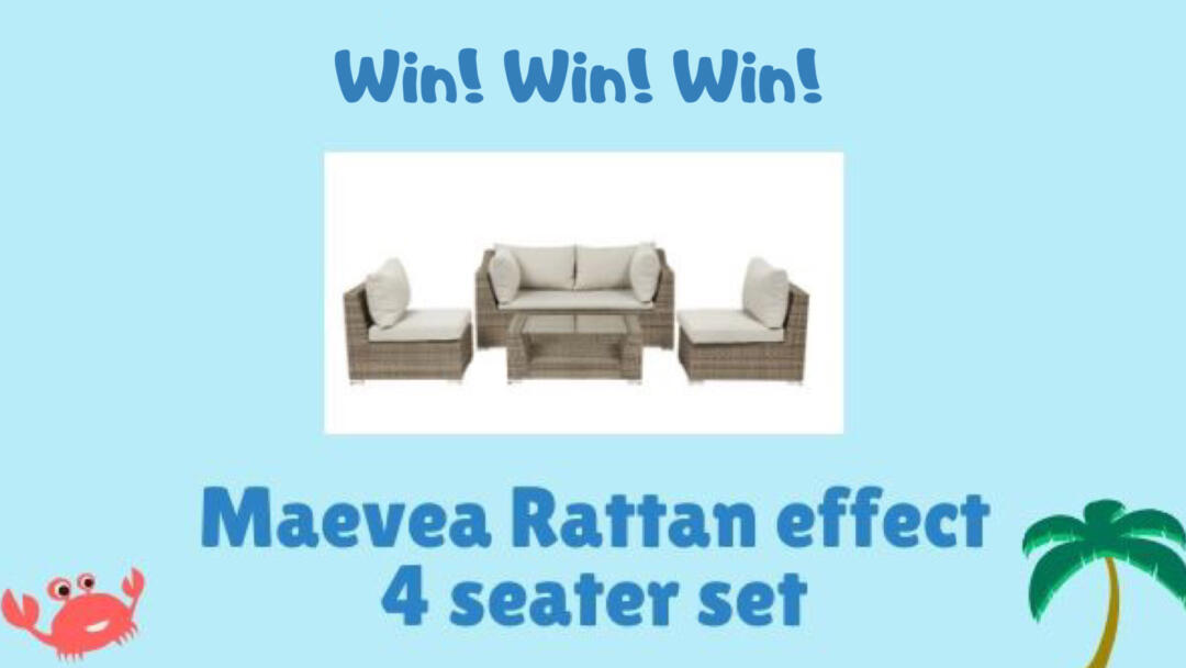 Summer Giveaway – Win an Amazing Garden Seating Set!