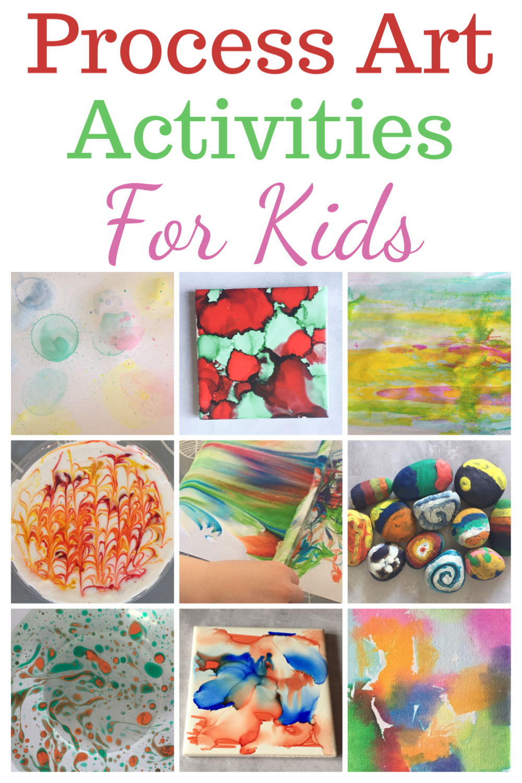 Process art activities for kids