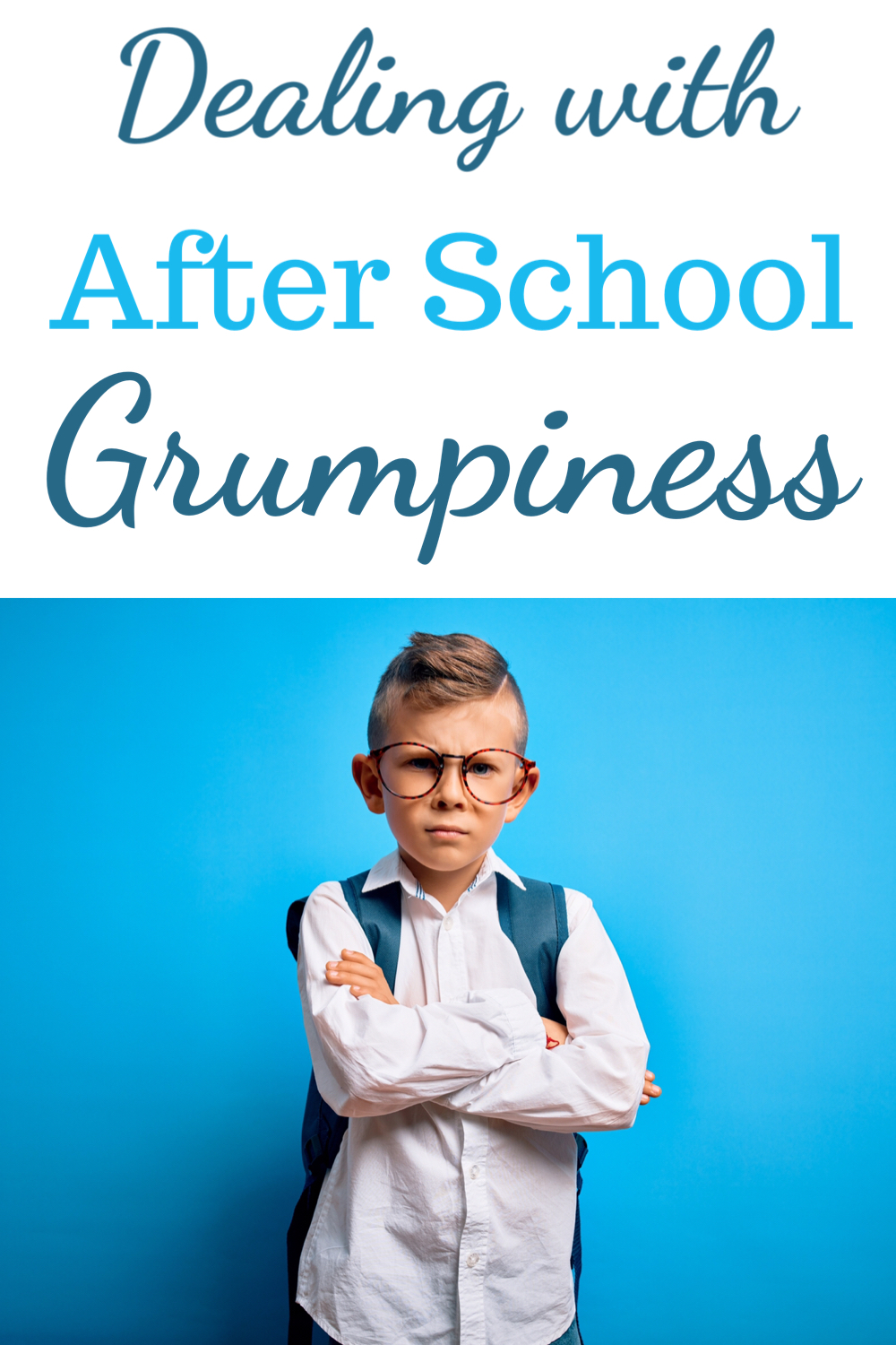 Dealing with after school grumpiness
