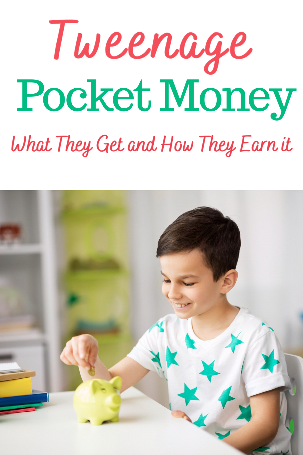 Tween age pocket money: what they get and how they earn it