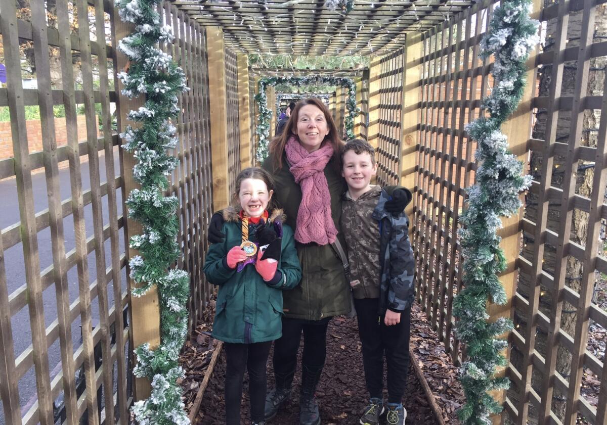 The festive walkthrough at Chessington