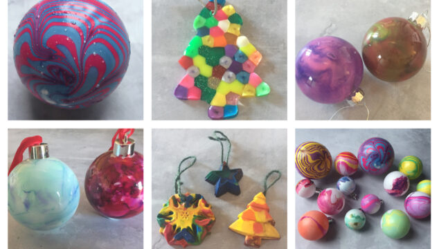 DIY Christmas decorations you can make with children
