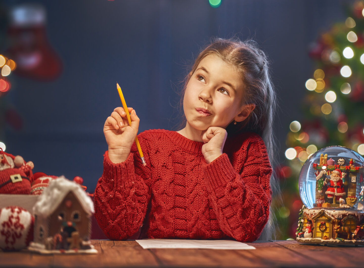The Six Stages of Writing Christmas Cards with Kids