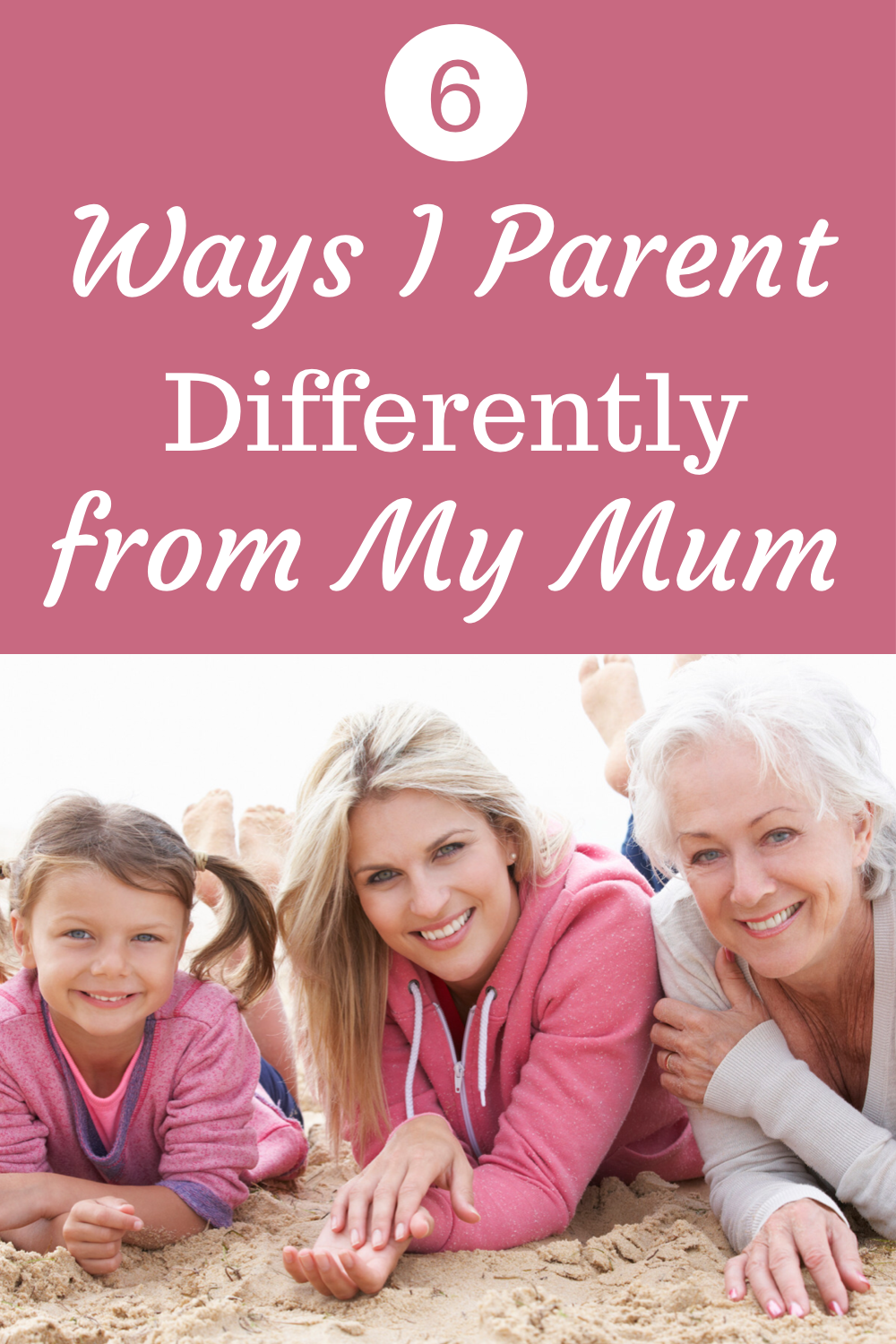 5 ways I parent differently from my mum