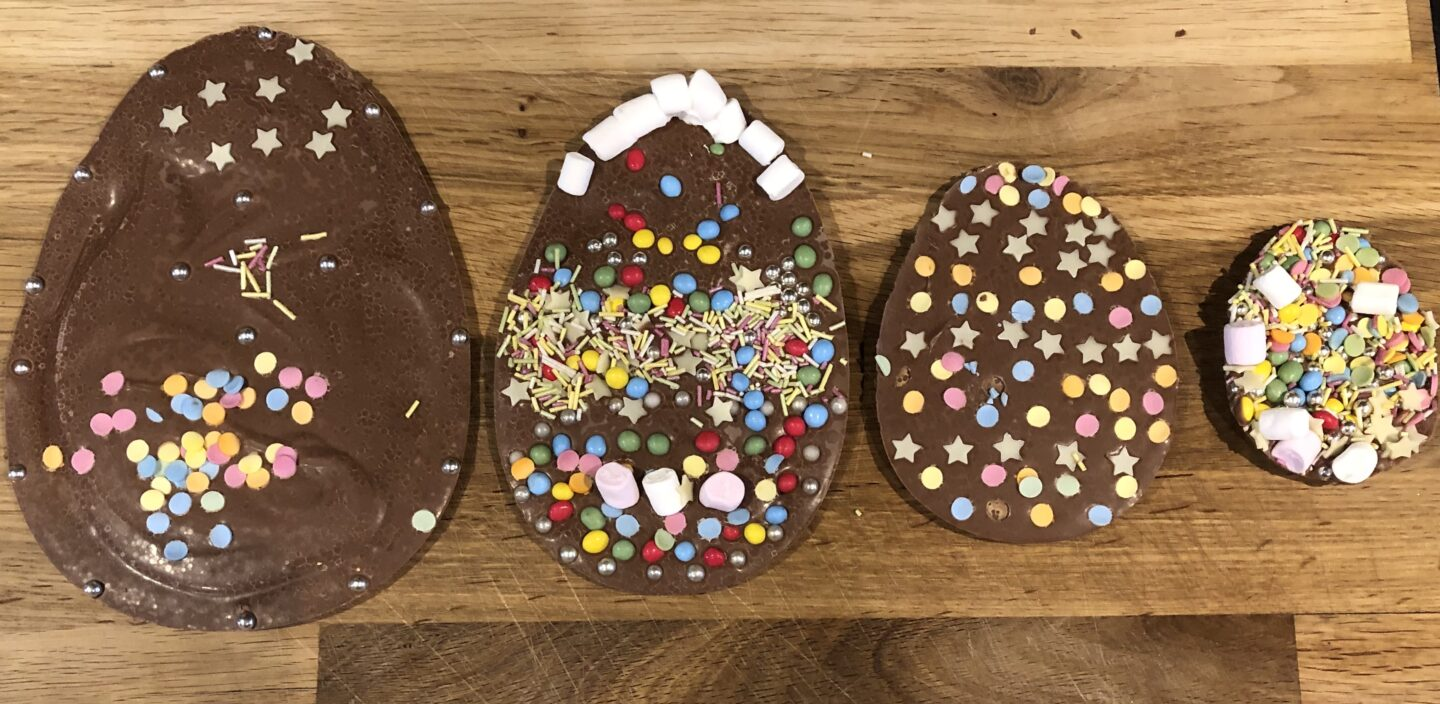 Fun and Easy Flat Easter Eggs to Make with Children