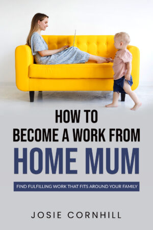How to become a work from home mum book cover