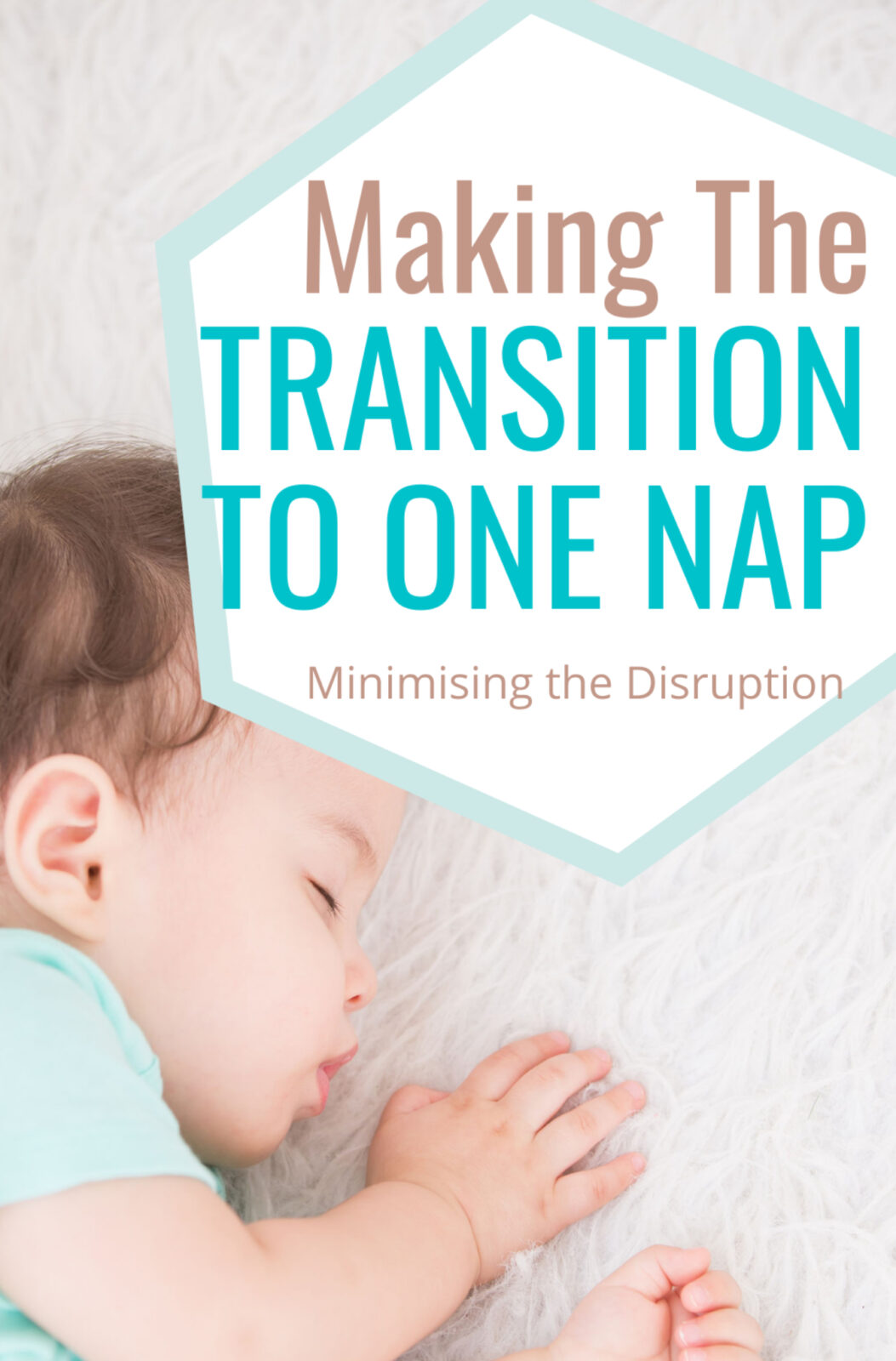 Making the transition to one nap - Minimising the disruption Image of baby asleep