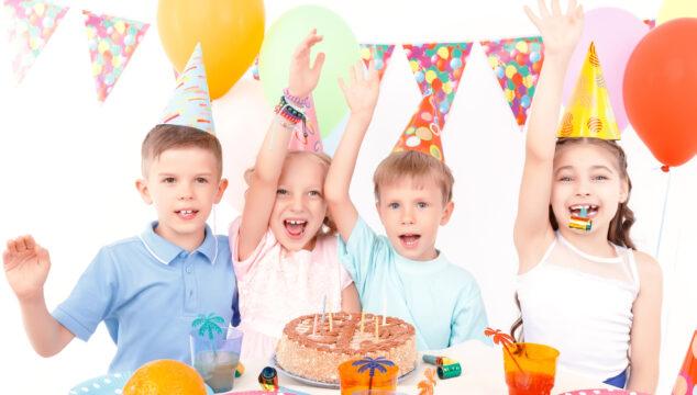 Children enjoying Birthday party entertainment